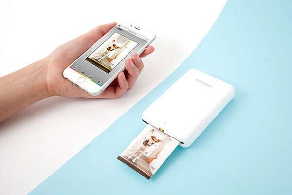 Мини-принтер для печати с телефона