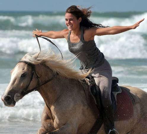 Научиться ездить верхом на лошади