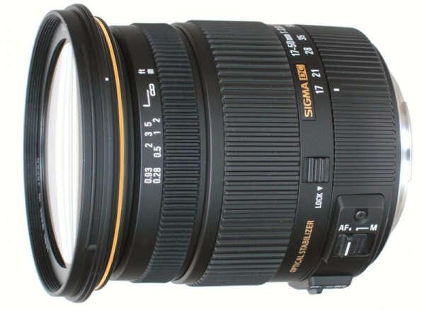 Объектив Sigma AF 17-50mm F2.8 EX DC OS HSM for Canon EF