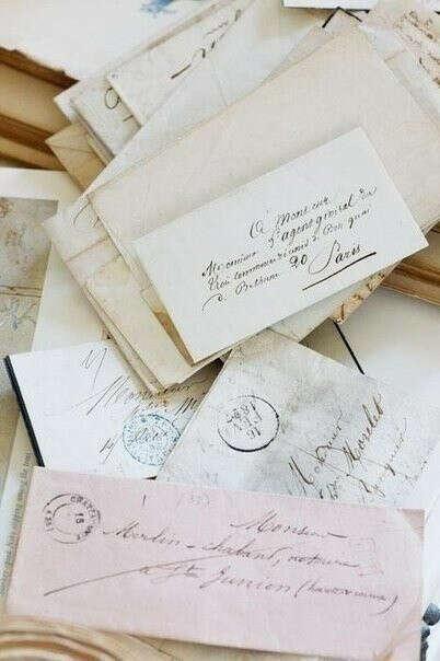 Получить письмо,написанное от руки.