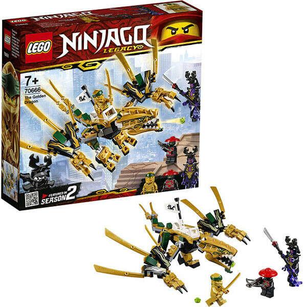 Купить конструктор Lego Ninjago 70666 Лего Ниндзяго Золотой Дракон в интернет магазине Toy.ru