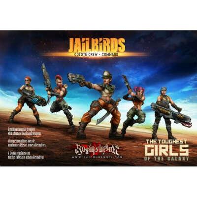 JAILBIRDS - COYOTE CREW - COMMAND
