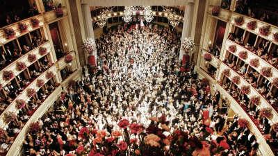 Танцевать на балу в Вене