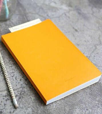 Планинг расходов Daily Account Book (разные цвета) / Жёлтый
