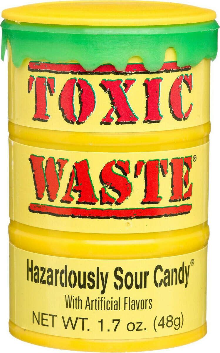 Леденцы Toxic waste