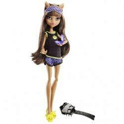 Кукла Клодин Вульф из серии Пижамные, Монстр Хай - купить в Империи Кукол - Империи Kids