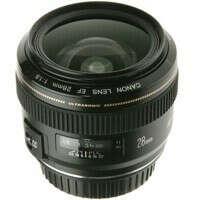 Объектив Canon 28 mm f/1,8
