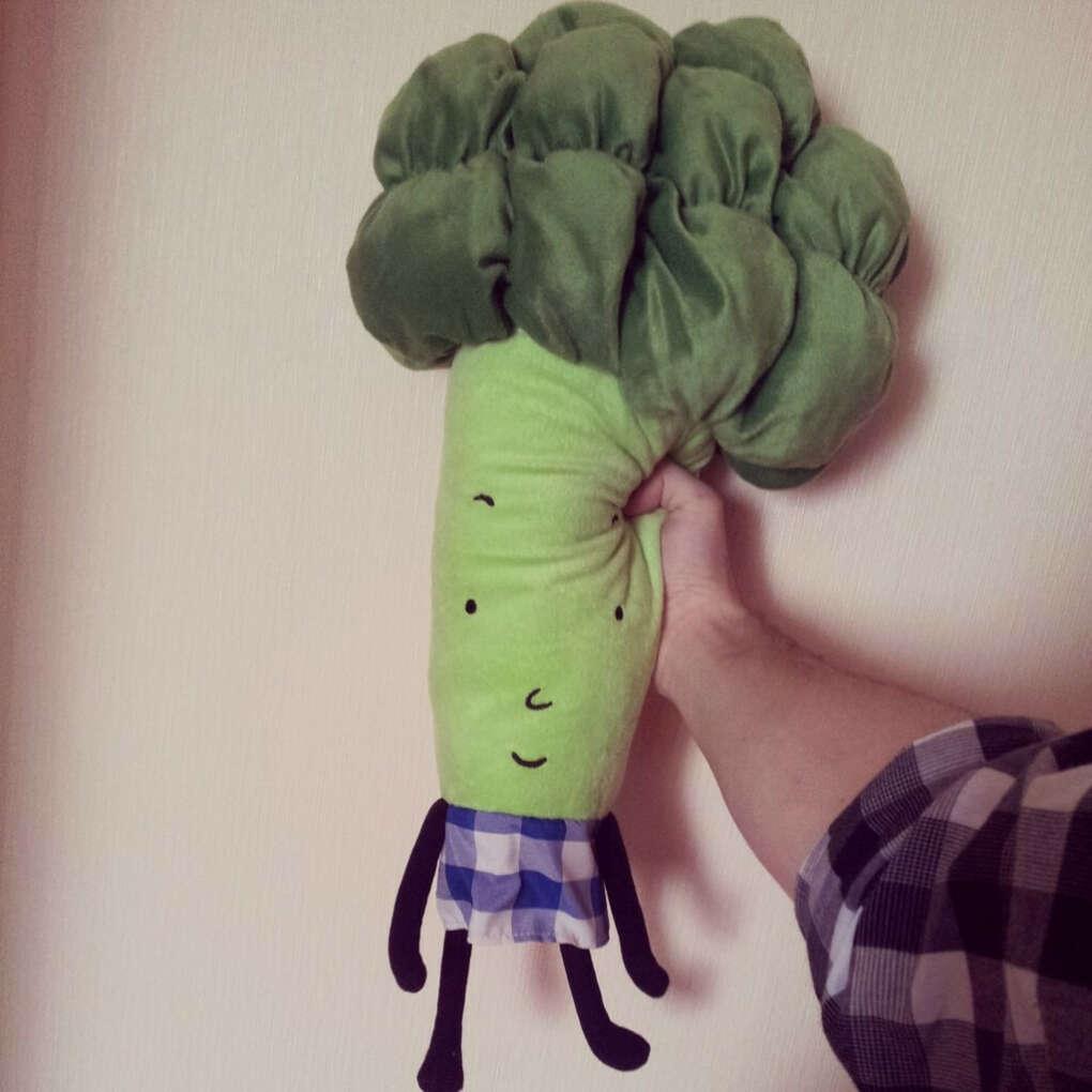 ТОРВА Мягкая игрушка брокколи