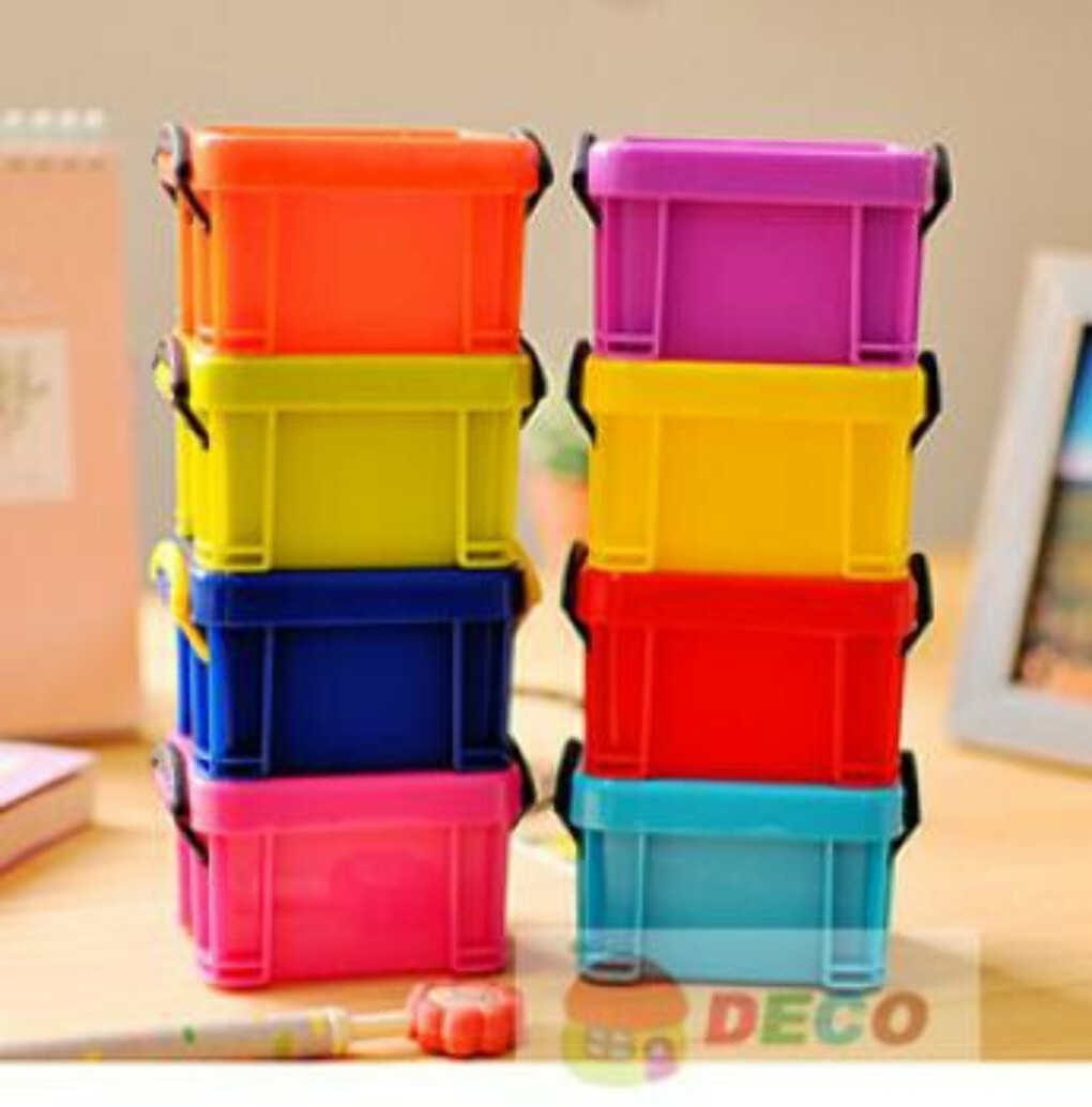Candy color mini storage box