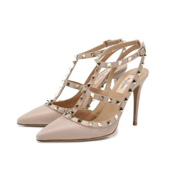 Кожаные туфли Valentino Garavani Rockstud