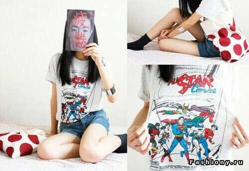 футболка от Marvel