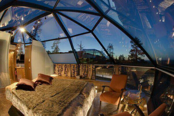 Заснуть под звездами