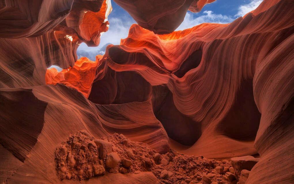 Посетить каньон Антилопы в США