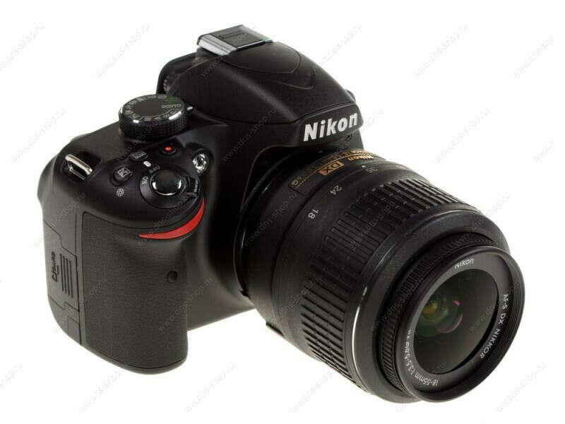 Nikon D3200 Black Kit 18-55mm VR