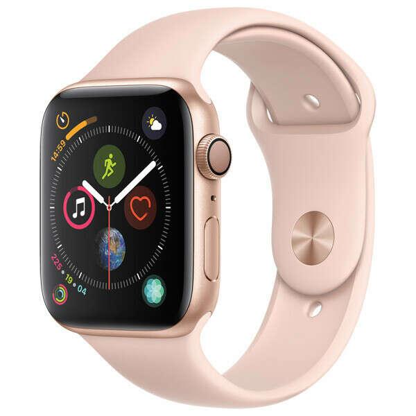 Смарт-часы Apple Watch S4 Sport 40mm Gold Al/Pink Sand Sport Band