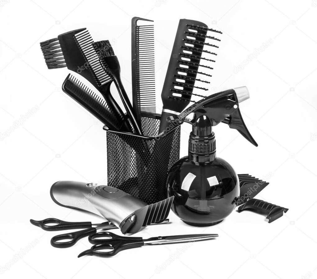 Набор инструментов для парихмахера