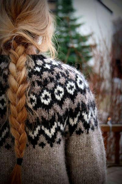 Ло́папейса ( Lopapeysa ) традиционный исландский свитер