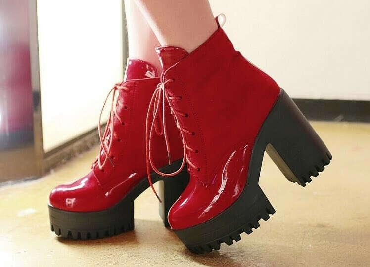 Клёвые осенние ботинки