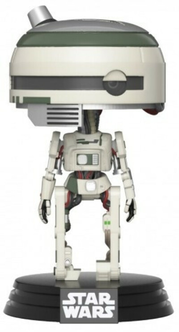 Фигурка Funko POP: Star Wars Solo – L3-37 Bobble-Head (9,5 см)