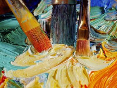 Научиться рисовать красками
