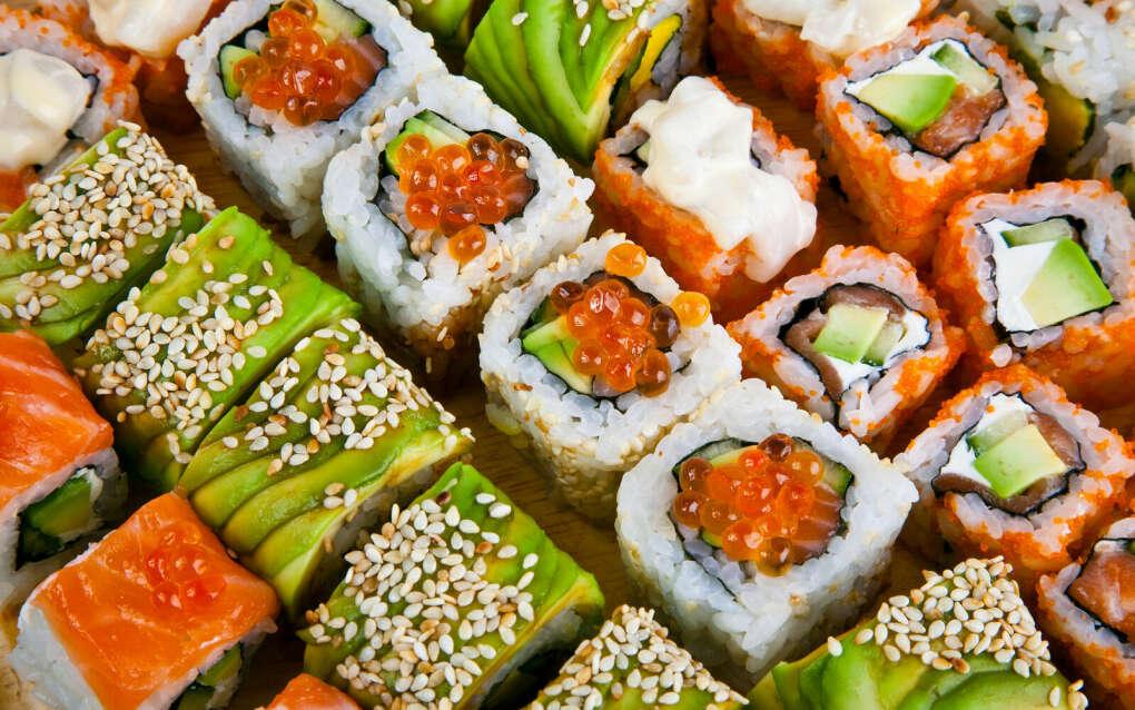 много суши