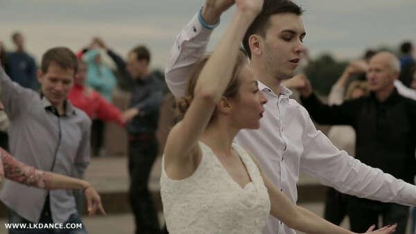 Танец на стрелке В.О.