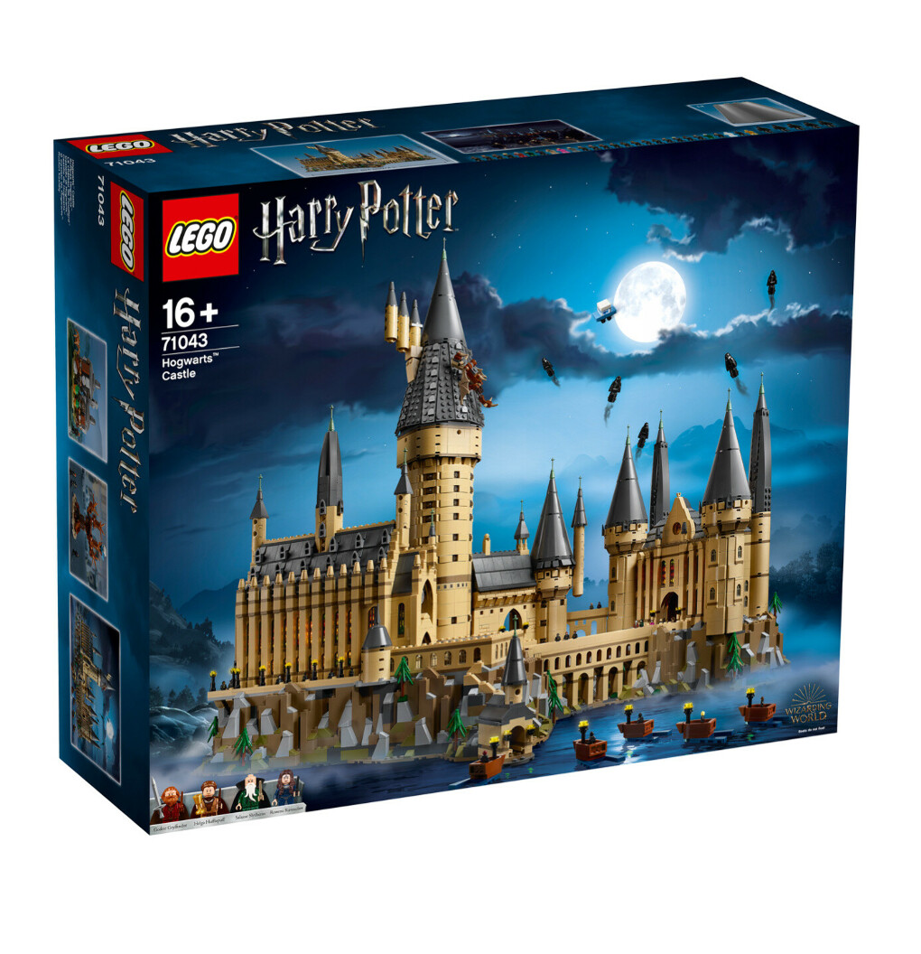 LEGO Harry Potter Замок Хогвартс
