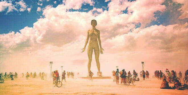 Побывать на Burning Man