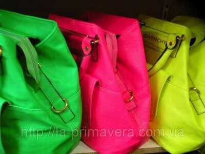 Неоновая сумка