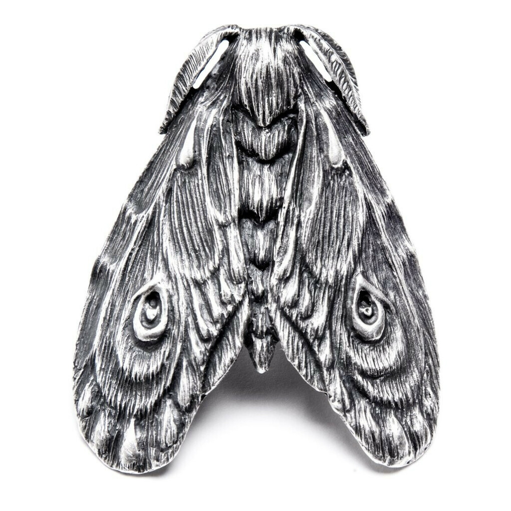 grief moth ring by bloodmilk