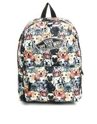 Рюкзак с собачьим принтом (лучше мопсы, конечно)