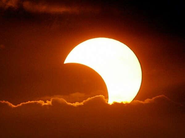 Увидеть солнечное затмение