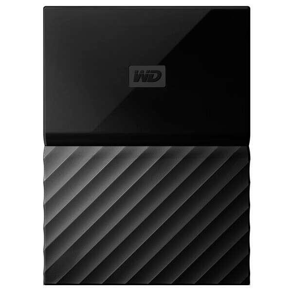 """Внешний жесткий диск 2.5"""" WD My Passport 1Tb Black (WDBBEX0010BBK-EEUE)"""