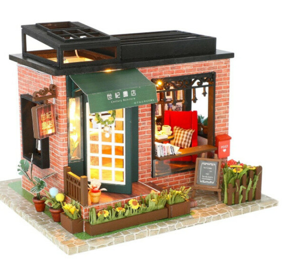 """Румбокс DIY MINI House """"Книжный магазин"""""""