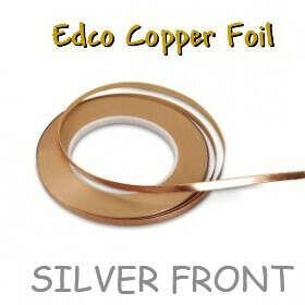 Фольга медная серебряная Edco 5,16 мм (Арт. № 13/64 silver)