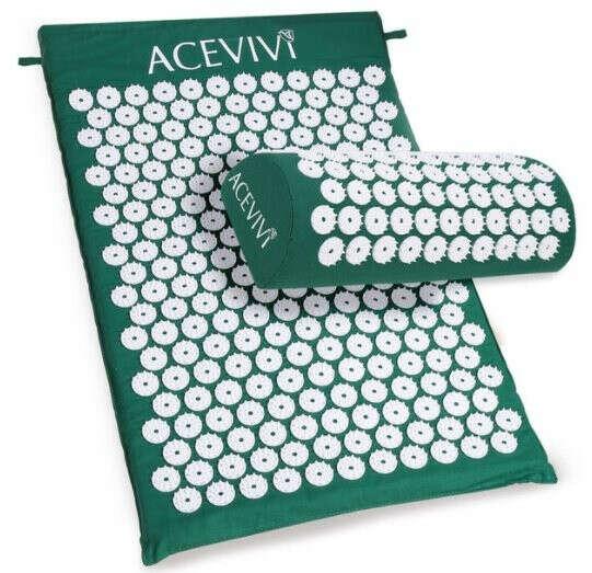Акупунктурный Массажный Коврик с подушкой (комплект) ACEVIVI