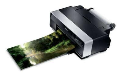 Цветной лазерный или пигментный принтер