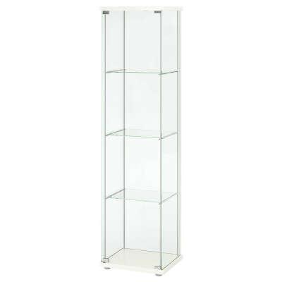 ДЕТОЛЬФ Шкаф-витрина, белый, 43x163 см купить в интернет-магазине - IKEA