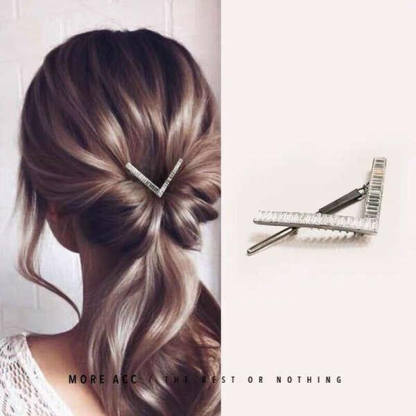 150.14руб. 54% СКИДКА|6,8 см роскошные хрустальные украшения для волос для женщин, кубический циркон, металлические шпильки для волос, свадебные украшения, заколки для волос, геометрические аксессуары для волос|Украшения для волос|   | АлиЭкспресс