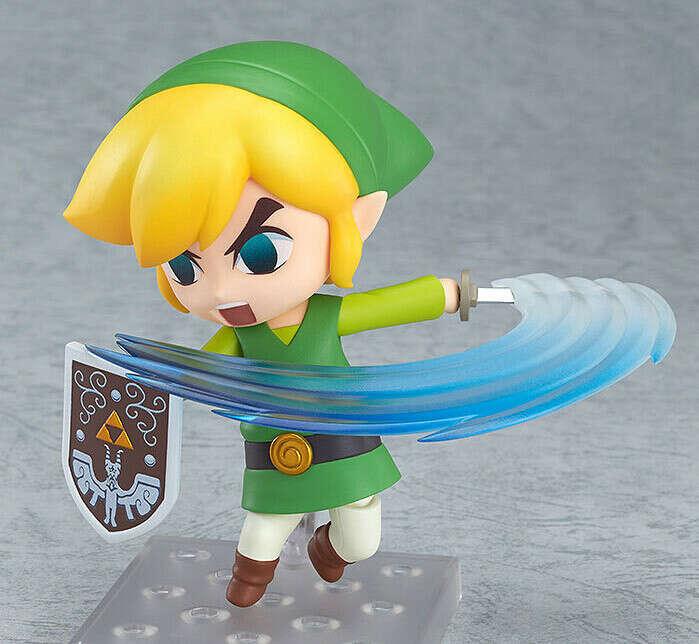 Легенда о Zelda ссылка Nendoroid пвх фигурку 10 см Q версии. Zelda ветер уокер ссылка коллекционная аниме куклы купить на AliExpress
