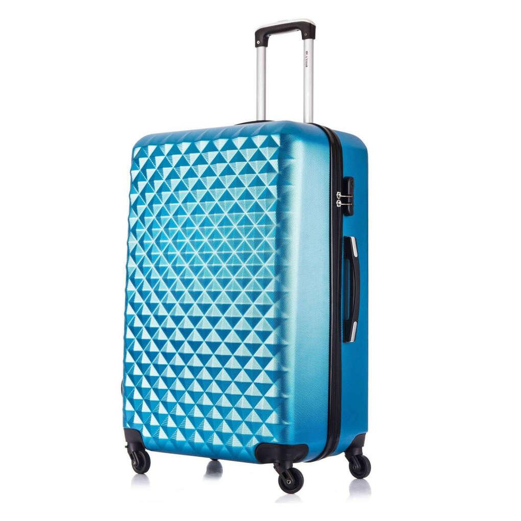 Яркий чемодан на 4 колесах