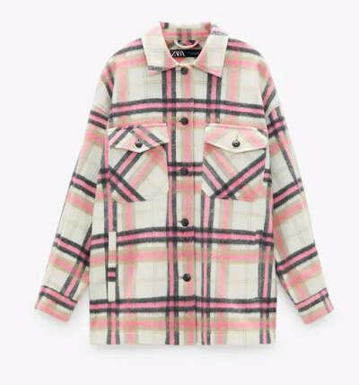 Теплая рубашка ZARA