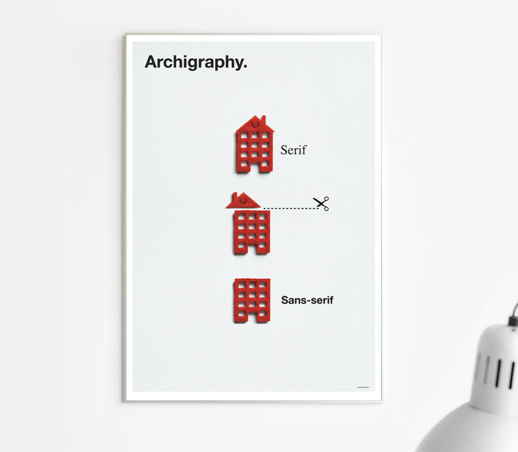 Archigraphy. - Poster by Zupagrafika