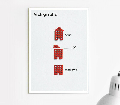 Archigraphy. - Poster by Zupagrafika