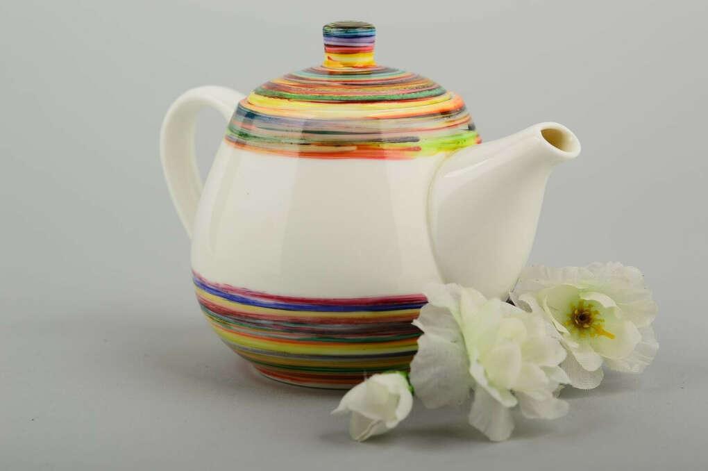 керамический заварник для чая