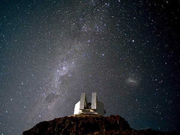 В ночную обсерваторию