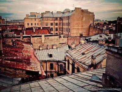 Побывать на крыше Питера