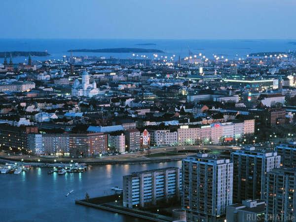 Поездка в Финляндию.