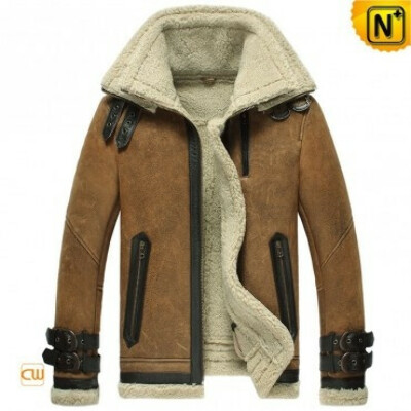 CWMALLS® Custom Sheepskin Flight Jacket CW860216