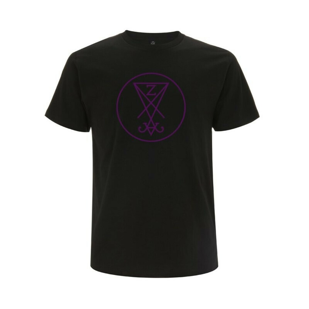 Zeal and Ardor Purple Logo T-Shirt